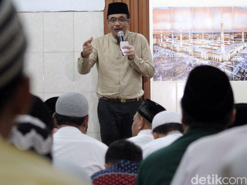 Wagub Djarot Safari Ramadan ke Rusun Tambora