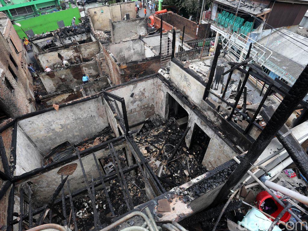 Pemprov DKI Diminta Cepat Bantu Korban Kebakaran di Keagungan Jakbar