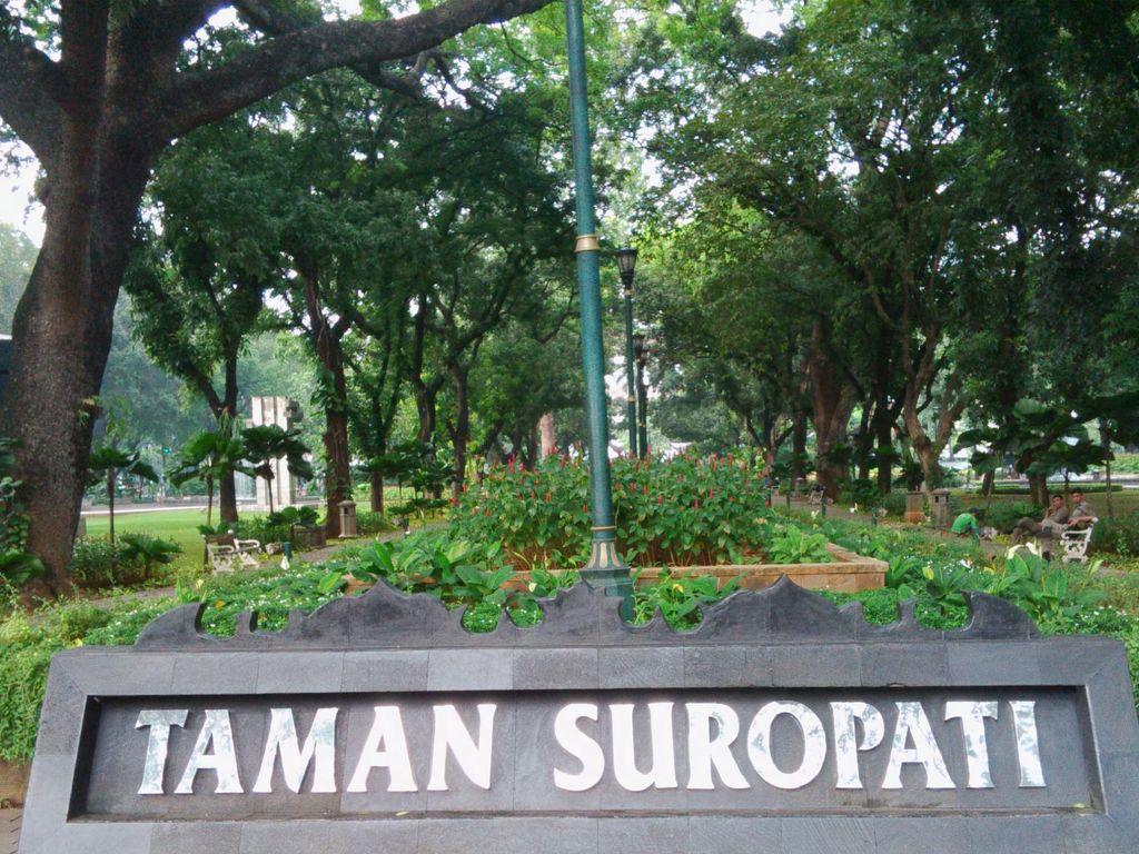 Pengunjung Taman Suropati Bisa Parkir di Taman Menteng atau Sunda Kelapa