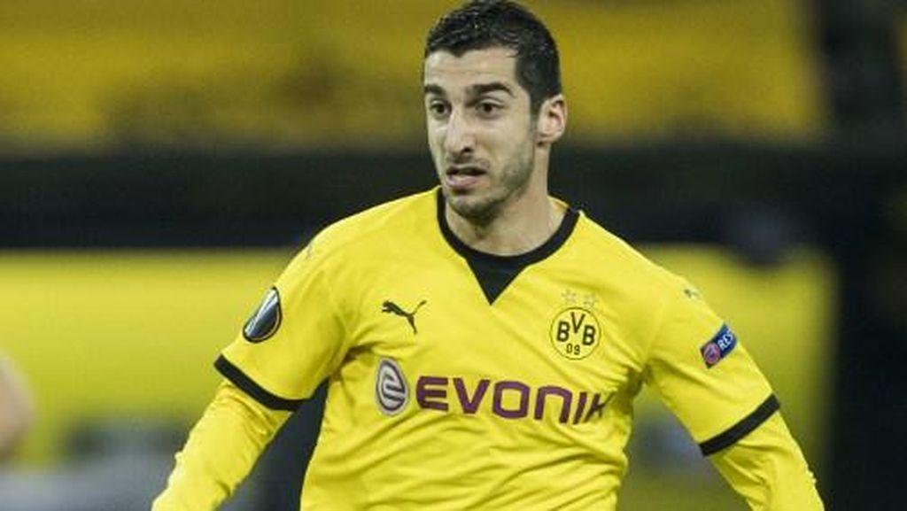 Mkhitrayan: Musim Keduaku di Dortmund Bagaikan Bencana