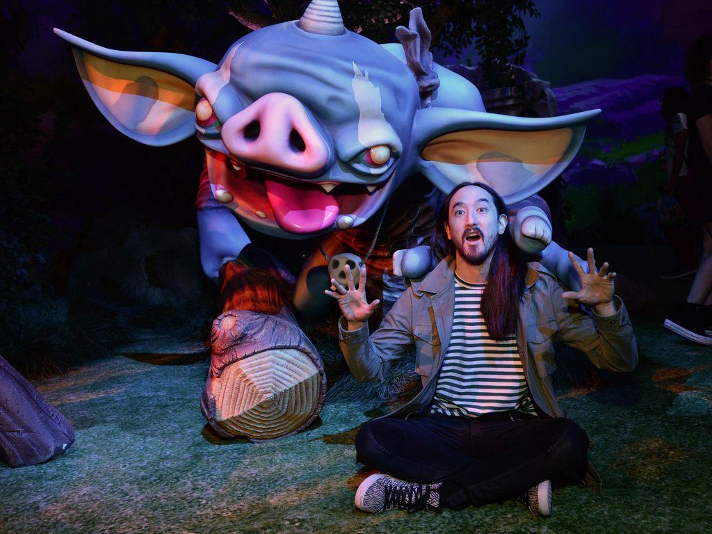 Steve Aoki akan Tulis Komik Futuristik Neon Future