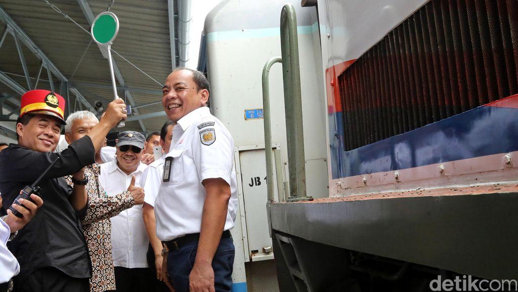 Ketua DPR Sidak ke Stasiun Gambir dan Senen