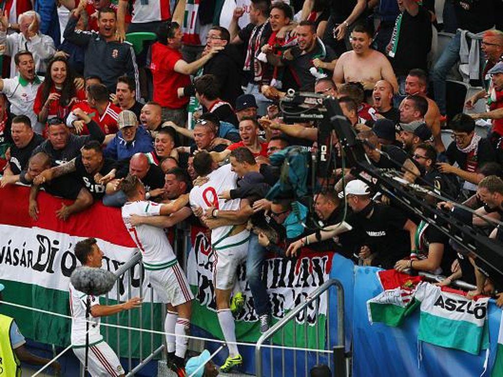 Tampil Agresif, Hongaria Tundukkan Austria 2-0