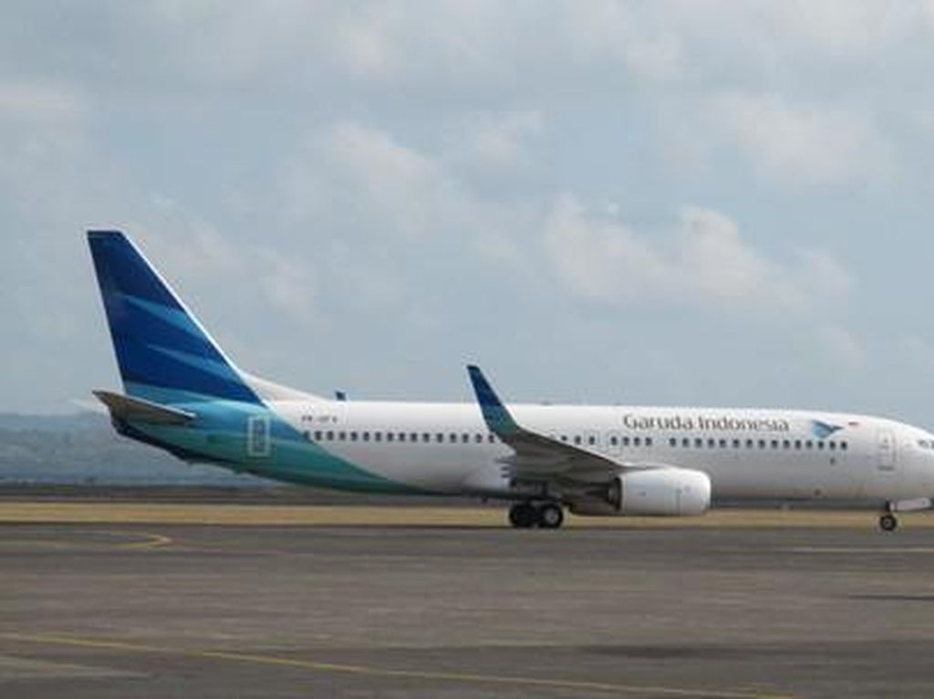 Garuda Tambah Tiga Penerbangan Lombok-Denpasar