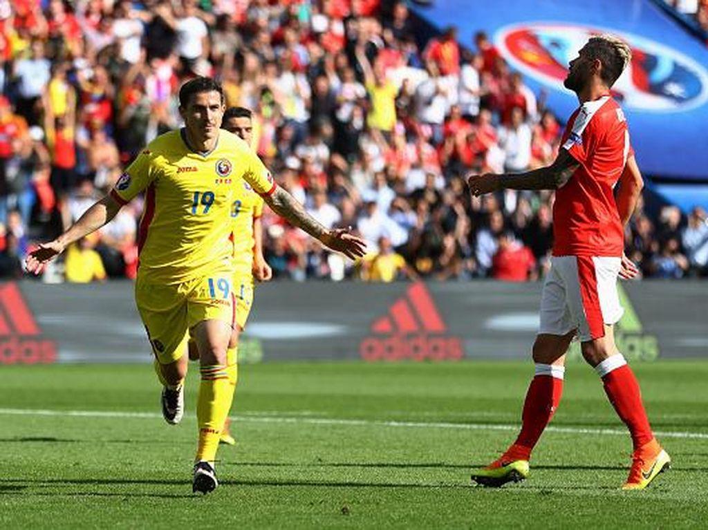 Rumania dan Swiss Berbagi Angka 1-1