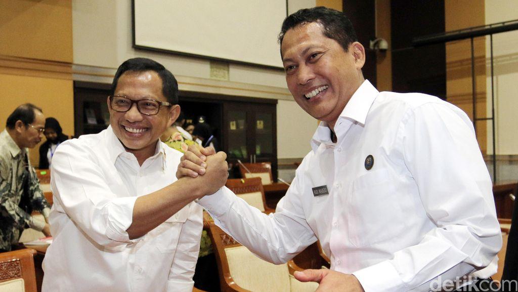 Tito dan Buwas Rapat Bareng di Komisi III DPR