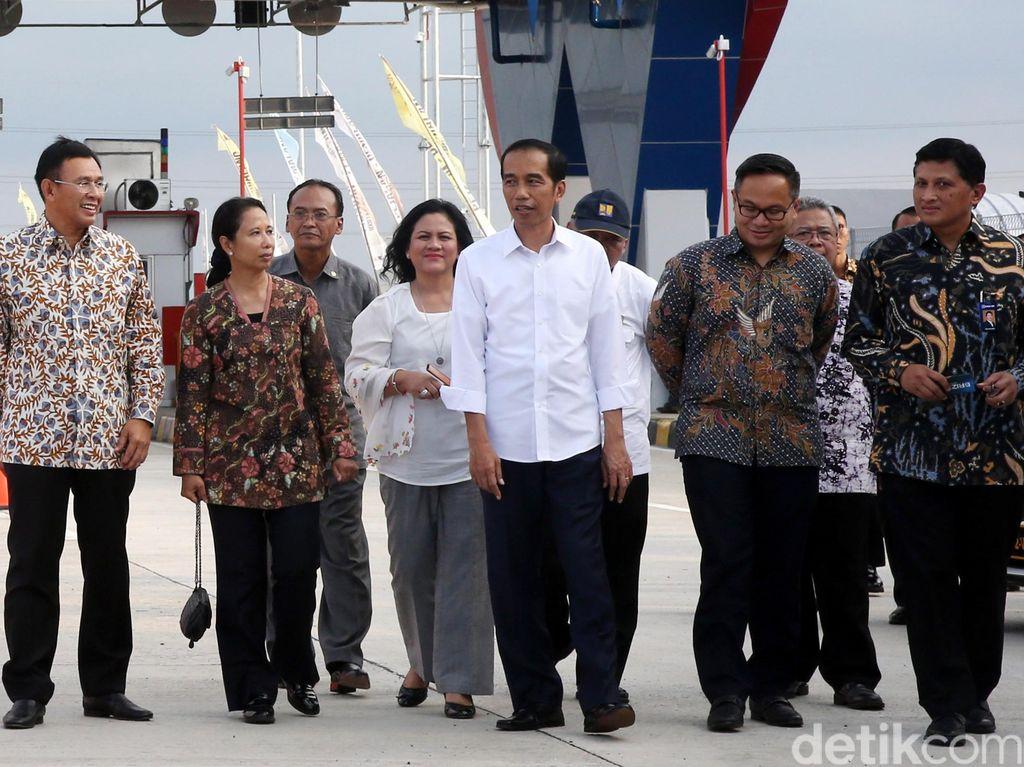 Presiden Jokowi Resmikan Tol Pejagan-Brebes Timur