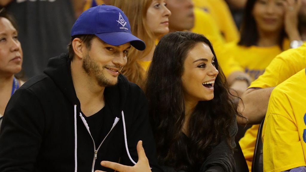 Mila Kunis dan Ashton Kutcher Ungkap Nama Anak Kedua