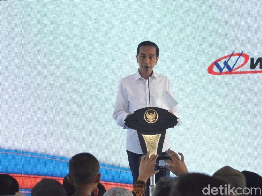 Ada Tol Pejagan-Brebes, Jokowi: Kirim Bawang ke Jakarta Hanya 4 Jam