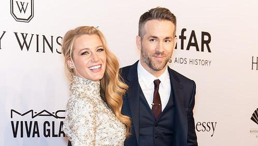 Bikin Baper, Ryan Reynolds Ungkap Momen Saat Jatuh Cinta dengan Blake Lively