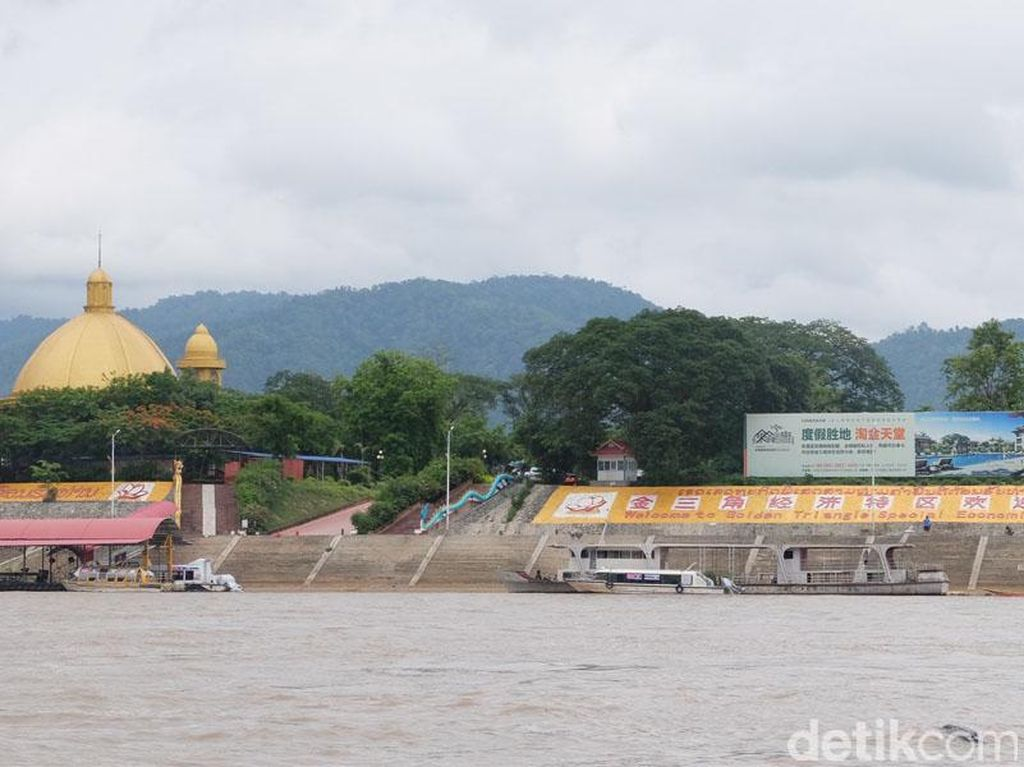 Seperti Ini Sungai Mekong di Perbatasan 3 Negara