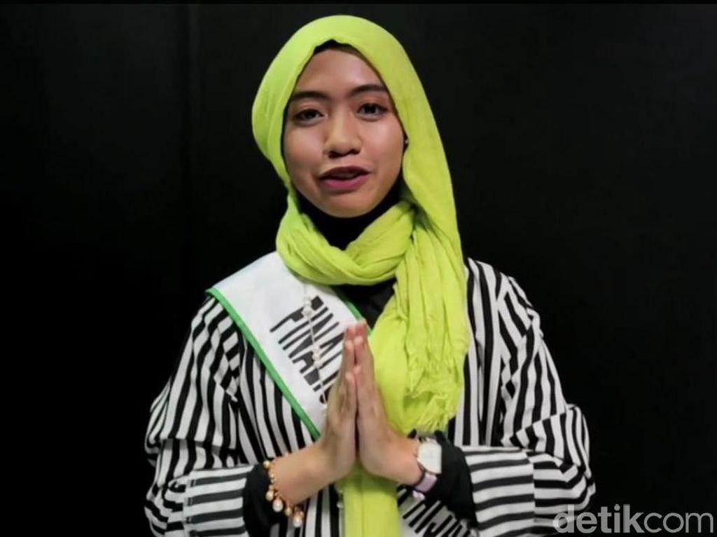 Tutorial Hijab dari Calon Dokter Juara 1 Sunsilk Hijab Hunt 2016, Denta