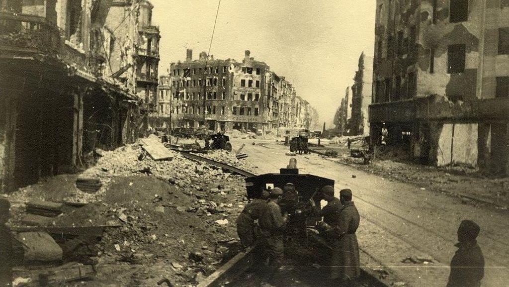 Potret Kontras Berlin Sesudah Hancur di Perang Dunia II