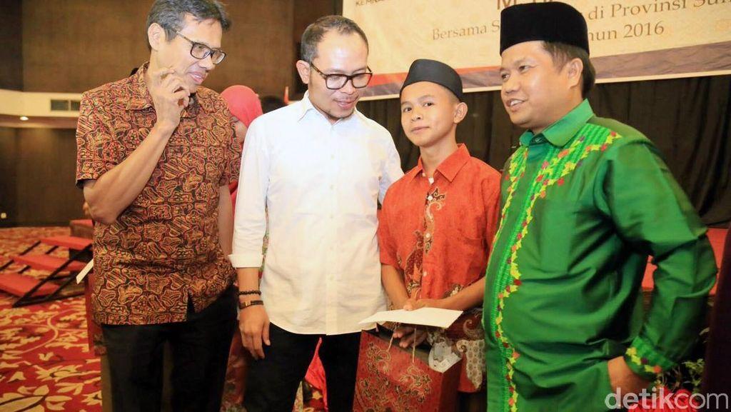 Menaker Hanif Safari Ramadan di Padang