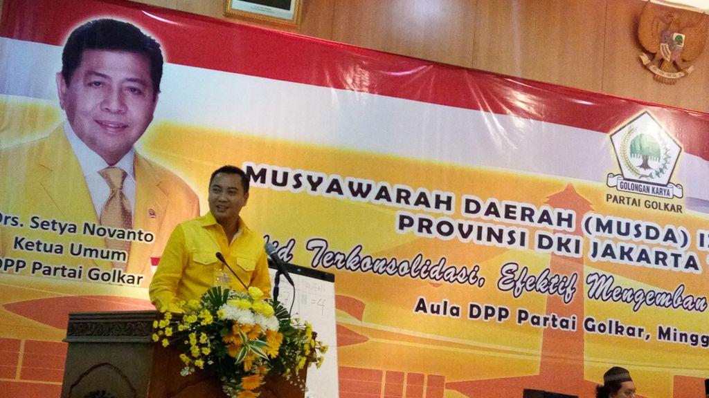 Dipolisikan, Fahd Laporkan Balik Ketua Golkar DKI ke Polda Metro