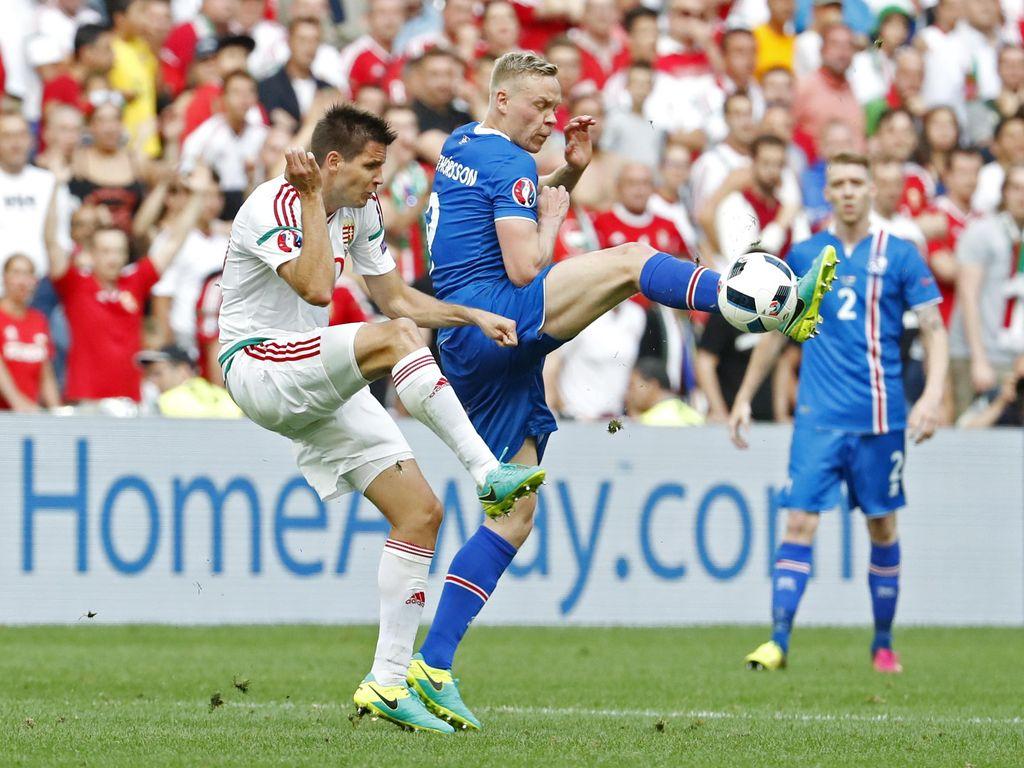 Gol Menit-Menit Akhir Bikin Hongaria Amankan Hasil Seri Lawan Islandia