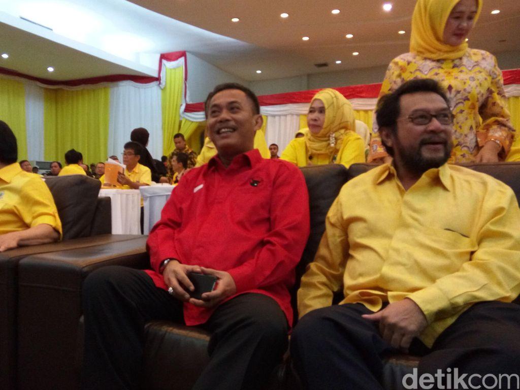 Fayakhun dan Taufan Rotorasiko Bersaing untuk Tentukan Dukungan Golkar ke Ahok