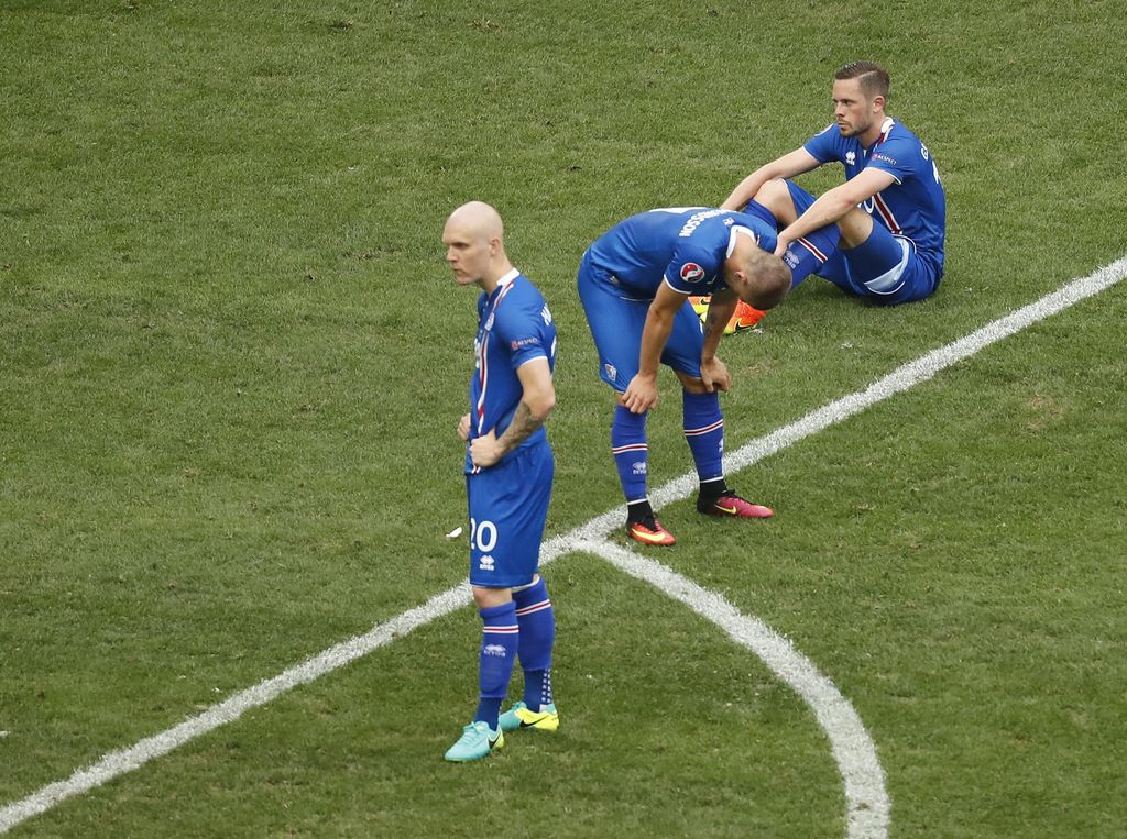 Masalah Konsentrasi Bikin Kemenangan Islandia Lepas dari Genggaman