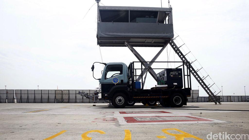 Tower ATC Mobile di T3 Ultimate Siap Beroperasi