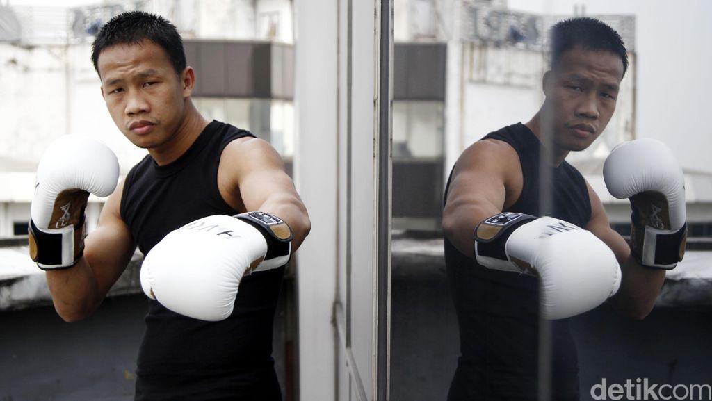 Peringkat 1 di WBA, Daud Segera Tantang Juara Dunia