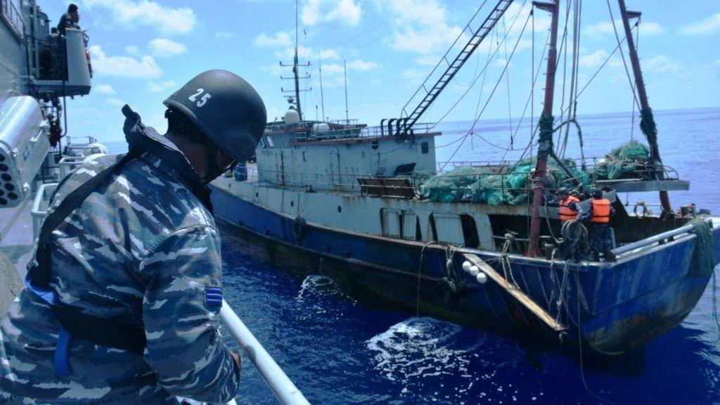 Tangkapi Kapal Maling Ikan, Susi: Masih Untung Nggak Ditenggelamkan