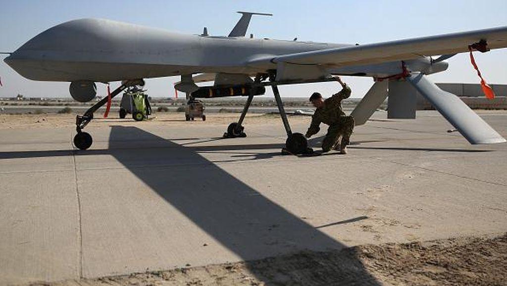 Aksi Drone Pemburu Musuh Buatan AS