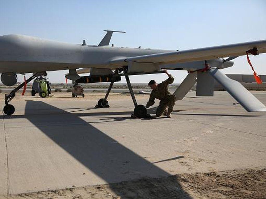 Penampakan Drone Amerika, Pembunuh Jenderal Iran