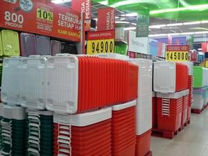 Promo Aneka Kotak Penyimpanan di Transmart Carrefour