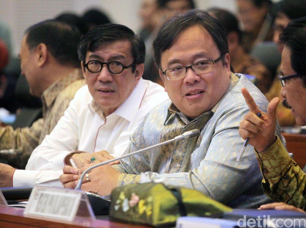 Sejumlah Menteri Rapat Dengan Banggar