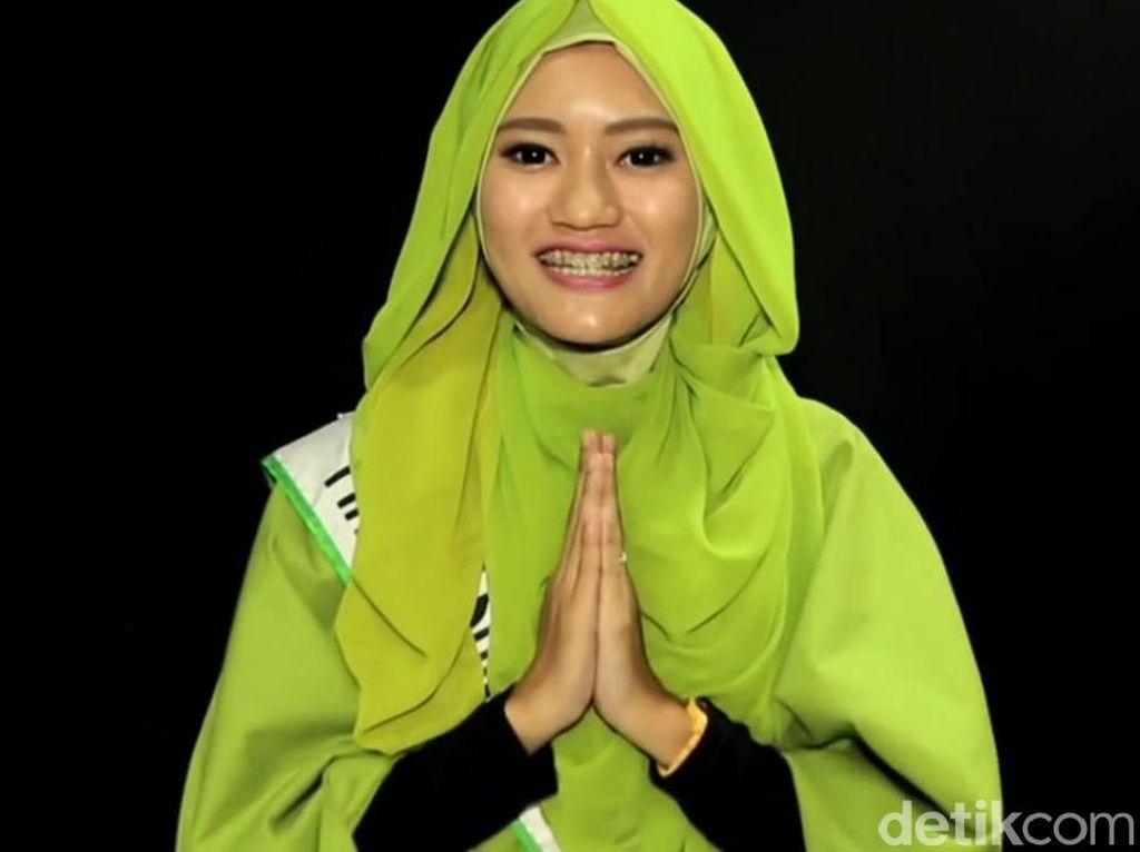 Tutorial Hijab Pashmina Sifon dari Adinda, Juara 3 Sunsilk Hijab Hunt 2016