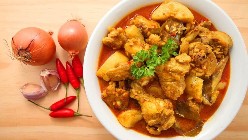 Aduh Enaknya! Gulai Ayam Gaya Sumatra yang Gurih Pedas dari Netizen Ini