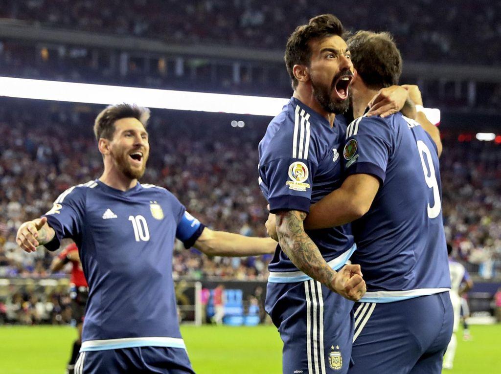 Kalahkan AS 4-0, Argentina ke Final