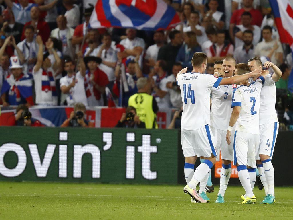 Slovakia, Hongaria, dan Kroasia Dipastikan Lolos ke 16 Besar