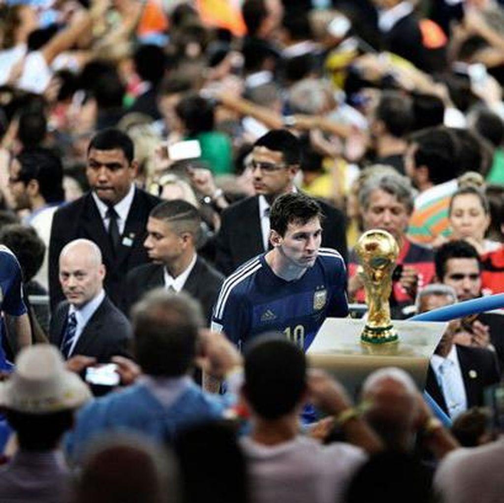 Messi: Saya Hidup dengan Kekecewaan di Piala Dunia 2014