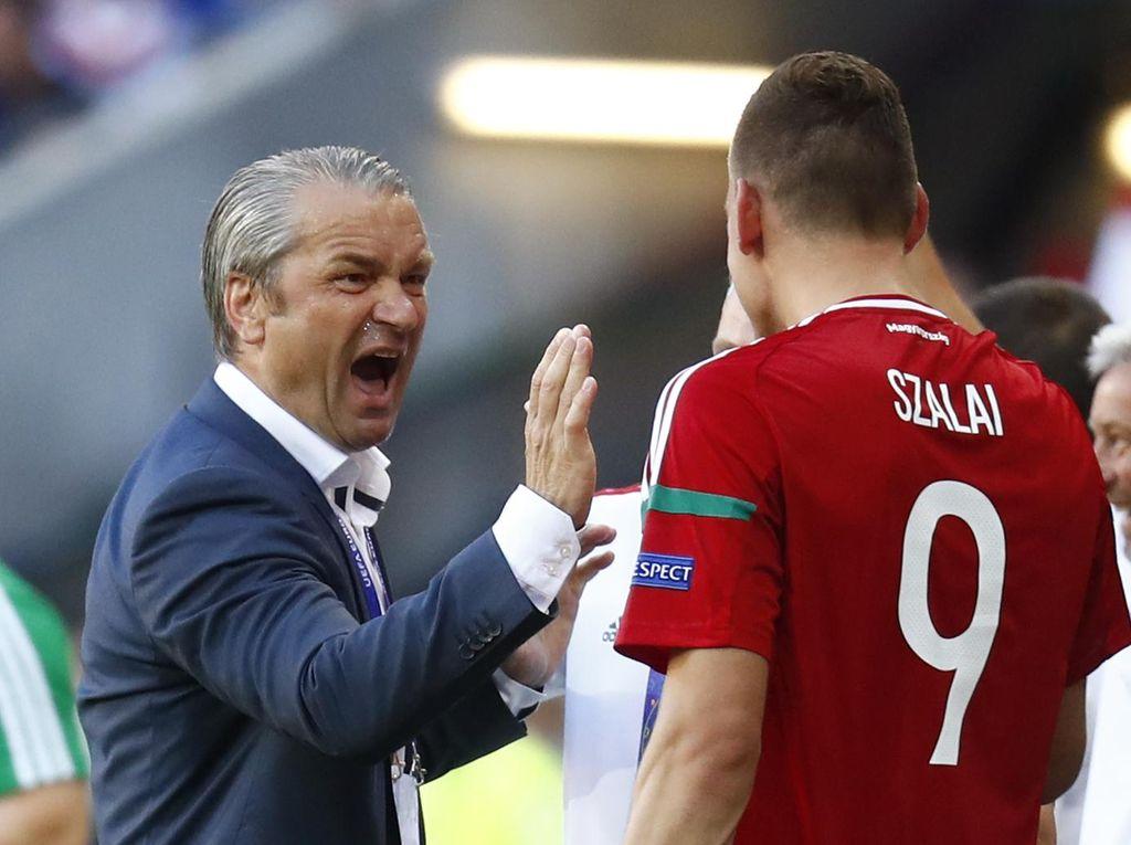 Imbang Lawan Portugal dan Lolos sebagai Juara Grup, Pelatih Hongaria Kehabisan Kata-Kata