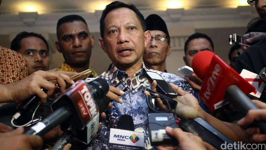 Komjen Tito Bertemu Para Pemimpin Media