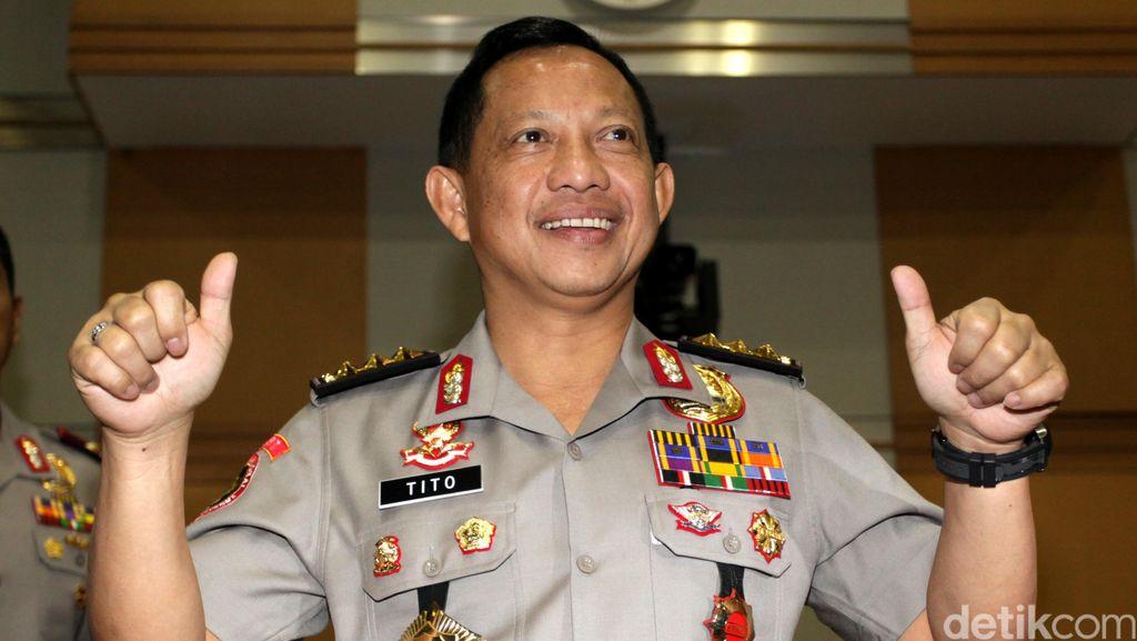 Komjen Tito Paparkan Visi Misi Jadi Kapolri