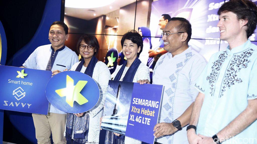 Semarang Rasakan Layanan 4G XL