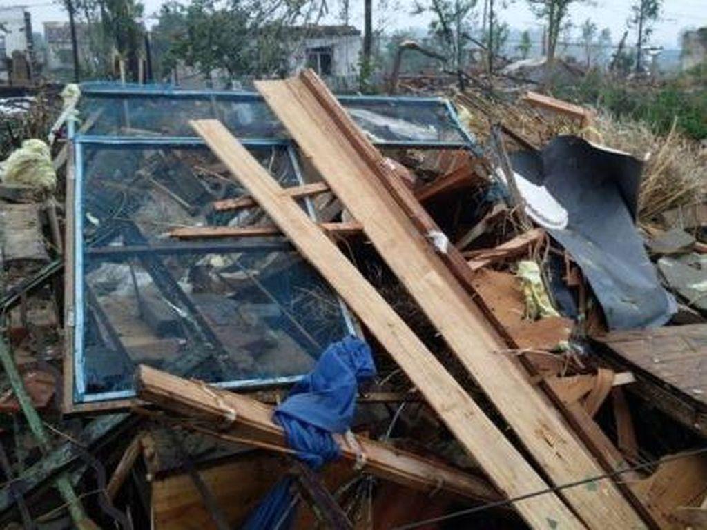 Tornado di Jiangsu China Tewaskan 78 Orang, Warga: Rasanya Seperti Akhir Dunia