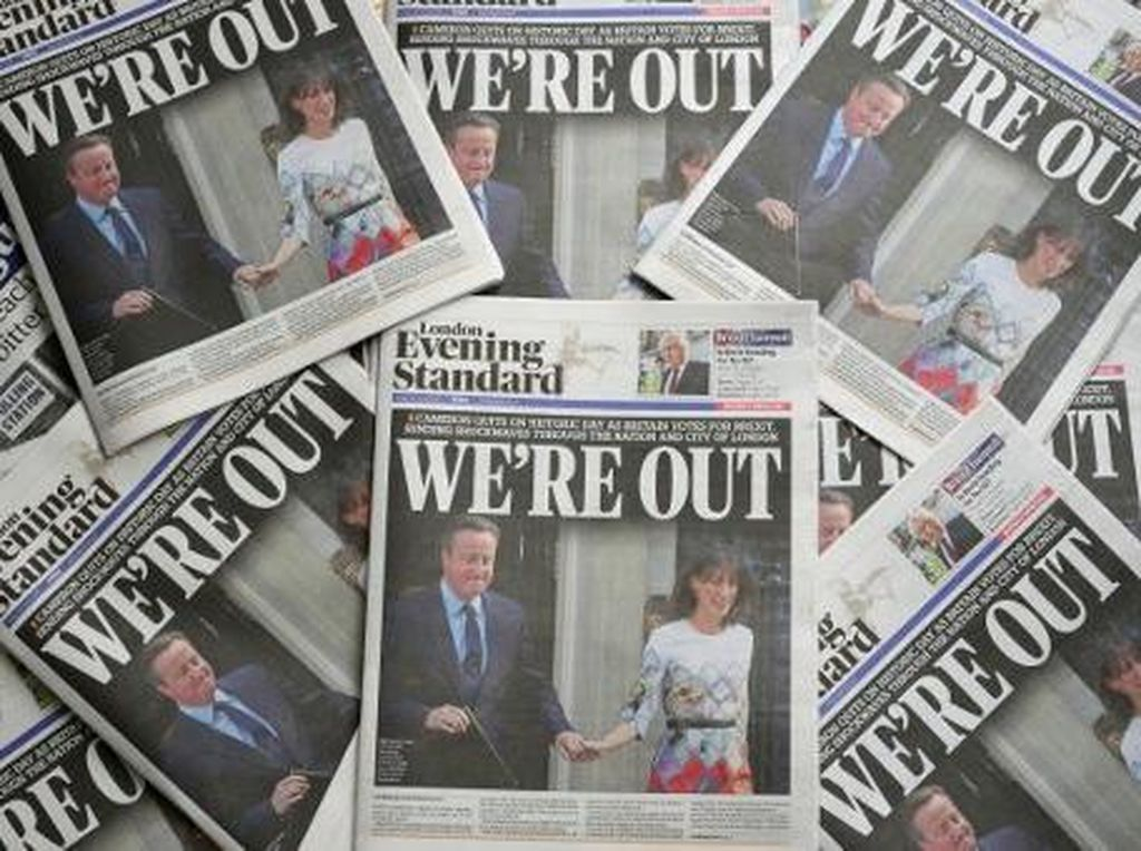 Usaha Rilisan Fisik di Inggris Juga Kena Dampak Brexit