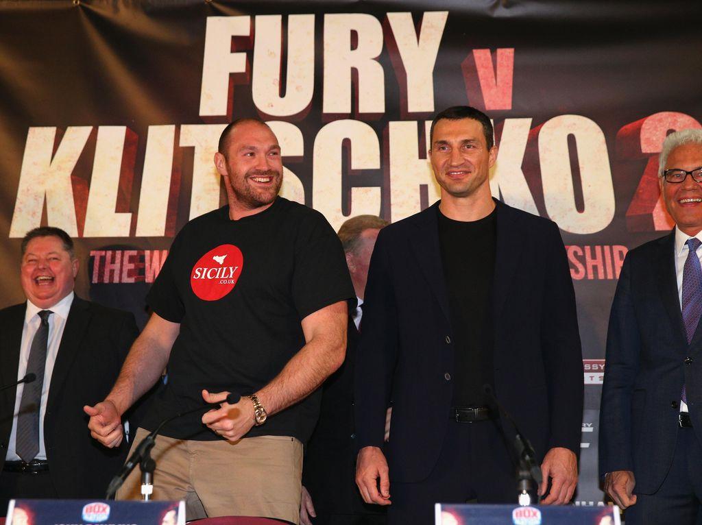 Rematch Tyson Fury vs Wladimir Klitschko Ditunda