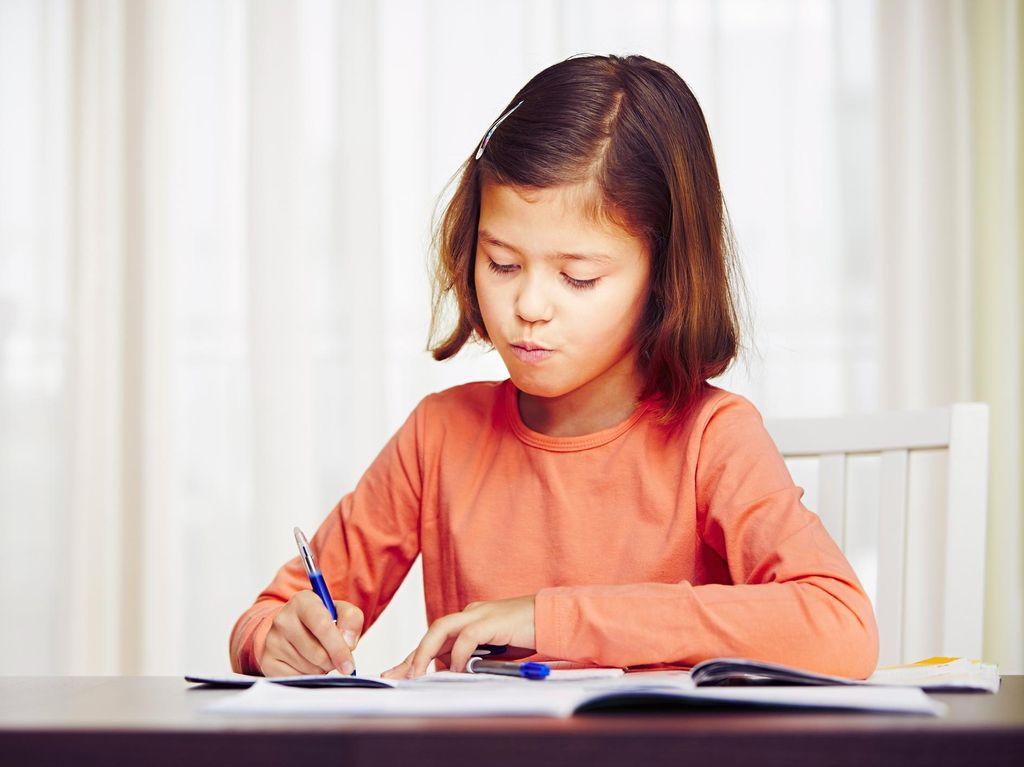 Trik agar Anak Semangat Mengerjakan PR