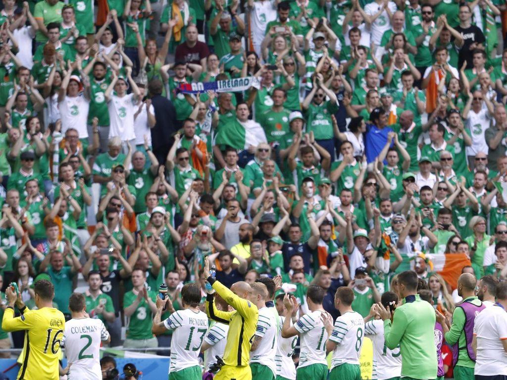 Republik Irlandia: Akhir Cerita Fans Terbaik di Dunia