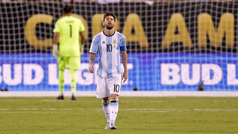 Tanpa Messi, Argentina Bukanlah Tim Super