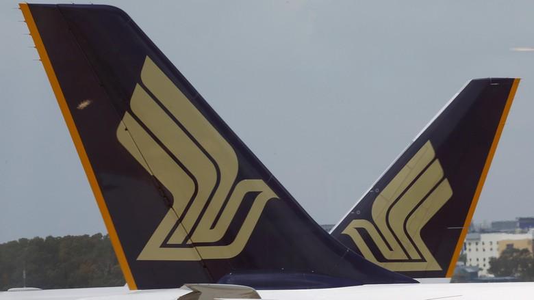Singapore Airlines Diancam Bom, 1 Wanita dan 1 Anak Diinterogasi