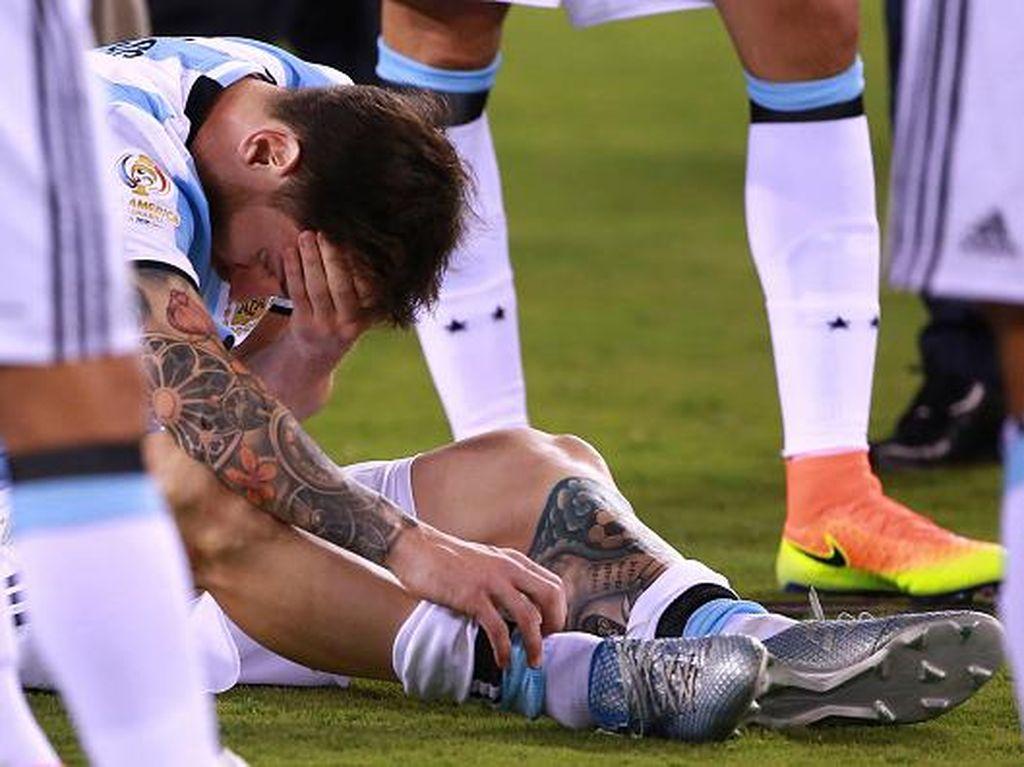 Dan Messi pun Menangis