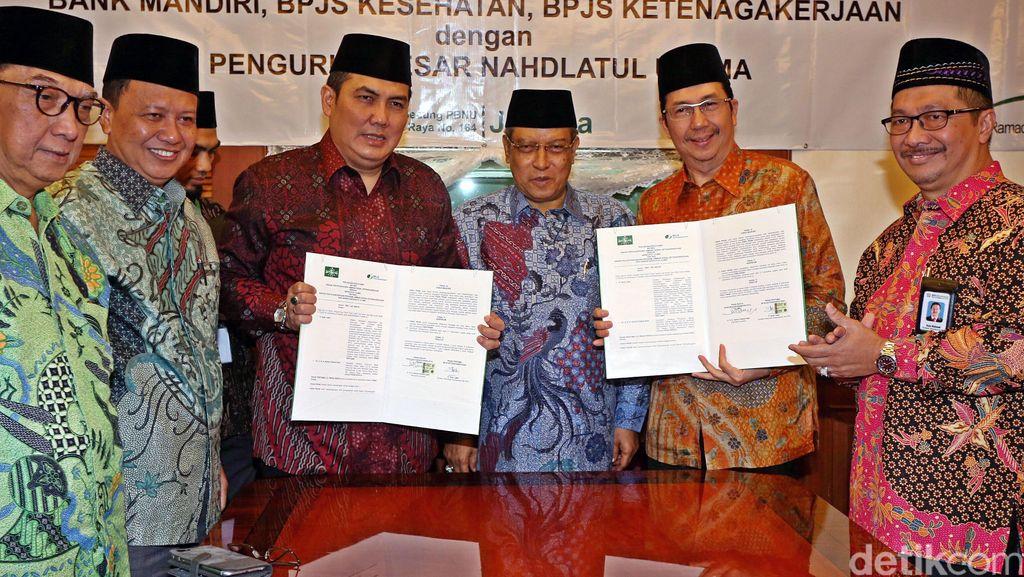 BPJS Ketenagakerjaan dan PBNU Jalin Kerjasama