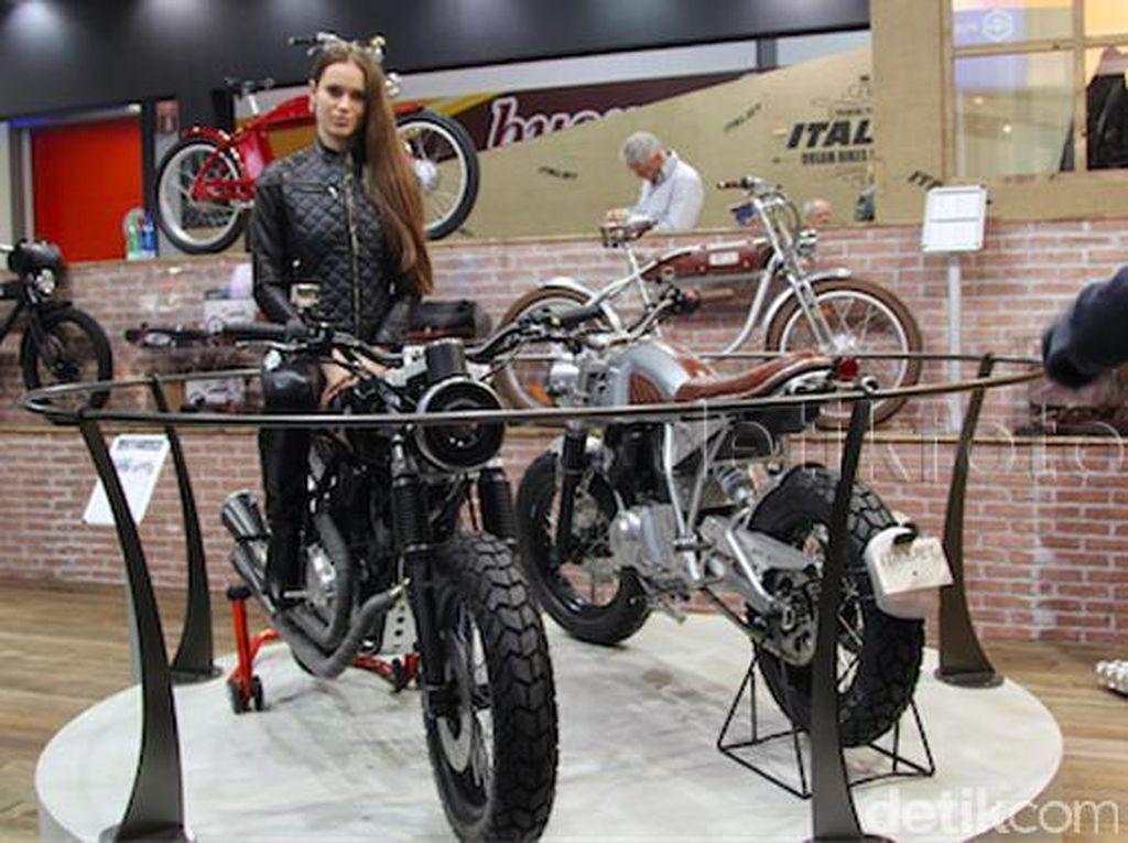 Ini Motor dan Sepeda Listrik yang Akan Diproduksi Italjet di Indonesia