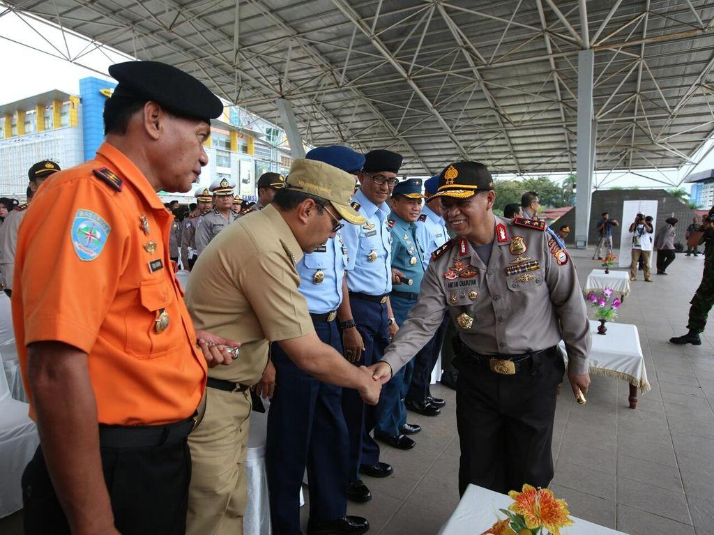 6.300 Polisi dan 1.000 Personel Gabungan di Sulsel Disiagakan selama Lebaran