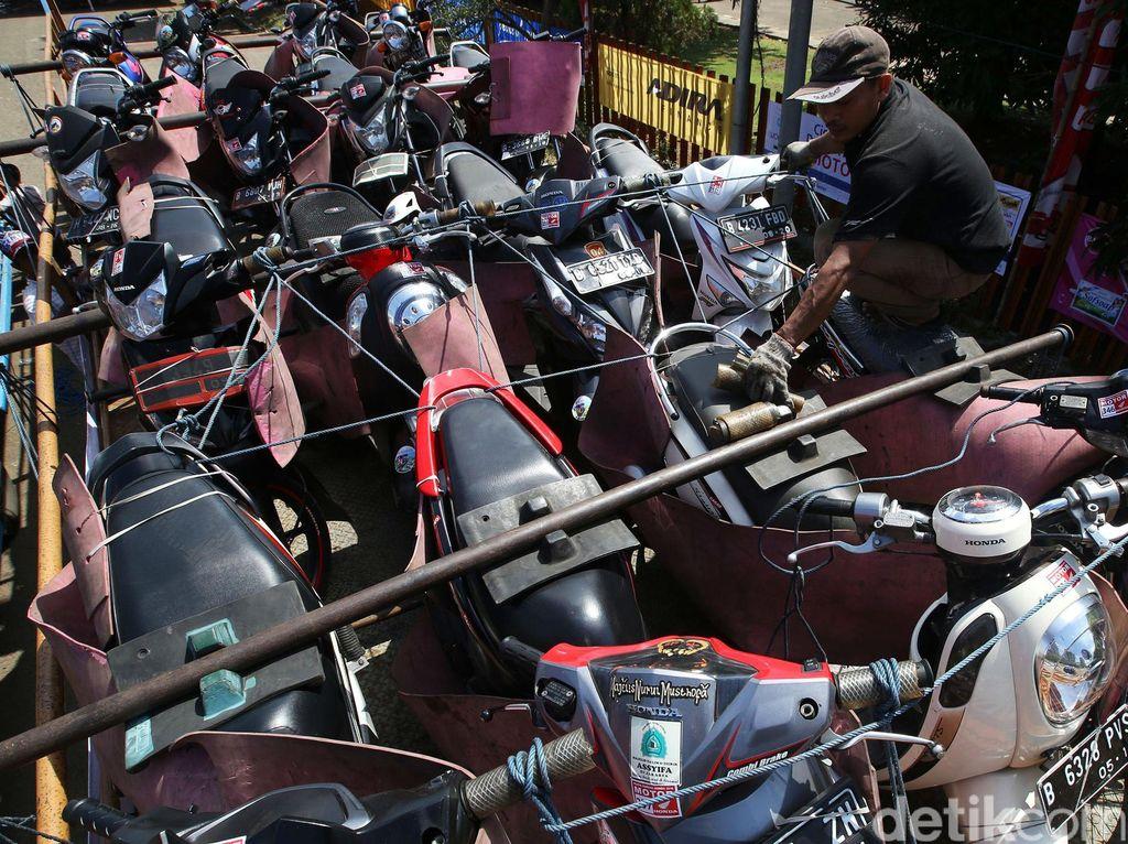 1.000 Motor Ikut di Mudik Bareng Honda